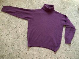 Jersey de cuello alto violeta azulado