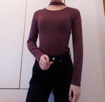 Tally Weijl Maglione dolcevita bordeaux-marrone-viola