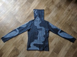 3 Suisses Knitted Sweater anthracite-grey mixture fibre