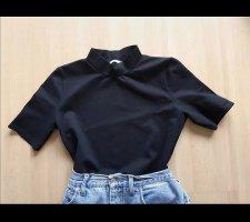 Mango Colshirt zwart