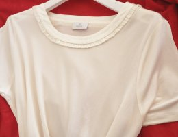 ae elegance Silk Top natural white-cream silk