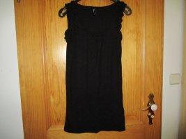 Flame Lange top zwart Polyester