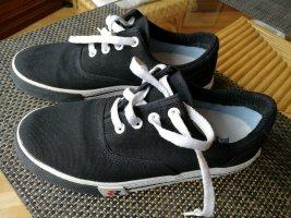 Romika Zapatos de marinero negro-blanco