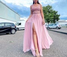 Abendkleid Suknia wieczorowa różowy-w kolorze różowego złota