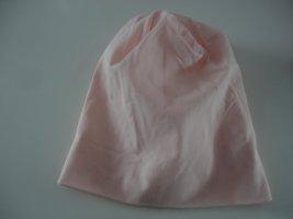 Czapka typu beanie różany-jasny różowy Bawełna