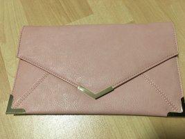 Rosa blush gold Handtasche Tasche Umhängetasche Brief Clutch