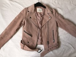 Review Giacca in pelle multicolore