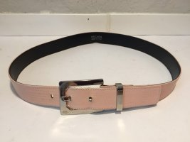 Escada Leather Belt silver-colored-pink