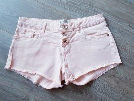 Rosa farbene Minishorts  / wie neu