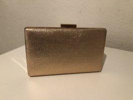 Rosa/Goldene Clutch