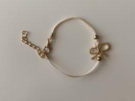 Braccialetto sottile oro-rosa antico