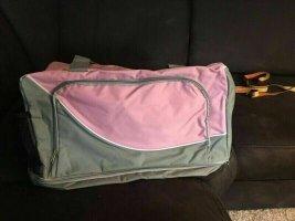 KANIA Sac de sport vieux rose-gris tissu mixte