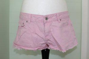rosa Jeansshorts