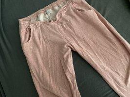 New Yorker Pantalón de lana color rosa dorado