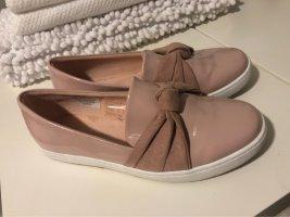 bpc bonprix collection Patent Leather Ballerinas pink