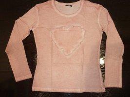 Rosa Langarm Shirt v. Eight2Nine Gr. medium M 1 x getragen