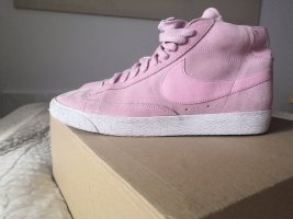 rosa Leder Sneakers Nike Gr. 41