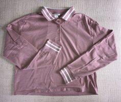 Rosa Poloshirt von Monki