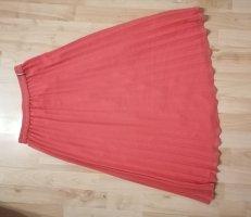 Tommy Jeans Zijden rok roze