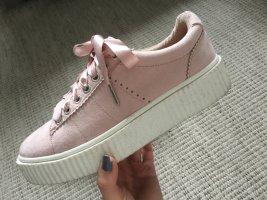 Rosa Sneaker Plateausohle