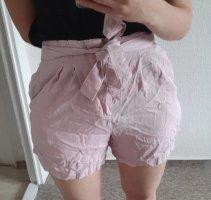 Vero Moda Pantalón corto de talle alto rosa-rosa claro