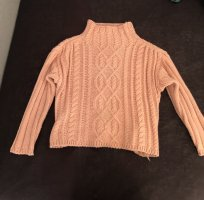 Vintage Crochet Sweater pink