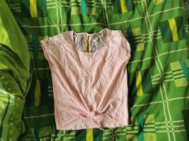 up 2 fashion T-Shirt light pink cotton
