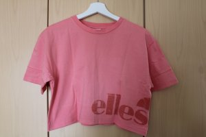 Ellesse Cropped Shirt pink cotton