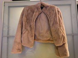 Even & Odd Giacca in eco pelliccia rosa antico