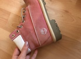 Timberland Buskins rose-gold-coloured-pink