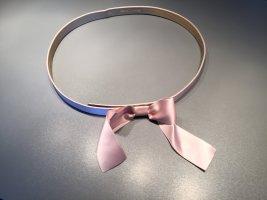 Rena Lange Ceinture en tissu rose clair