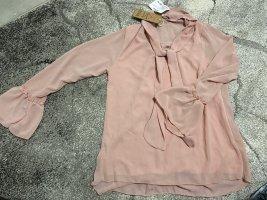 Olymp & Hades Zijden blouse lichtroze