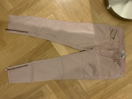 Diesel Low-Rise Trousers rose-gold-coloured-dusky pink
