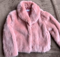 Rosane / Pinke Faux Fur Jacke | Blogger | Must Have | Kuschelig