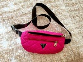 Guess Bumbag pink-neon pink polyester