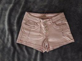 Rose Player Pantaloncino di jeans rosa antico