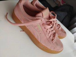 Rosé Puma sneakers