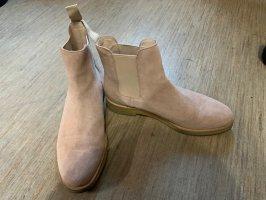ohne Marke Botas estilo vaquero color rosa dorado