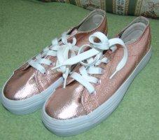 Rosegoldene Metallic Sneaker Gr. 39 neu