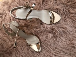 Strapped High-Heeled Sandals rose-gold-coloured