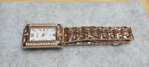 SmD Montre avec bracelet métallique or rose