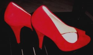 Roselight Damen High Heels rot Gr. 39 NEU