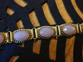 Armband goud-roze