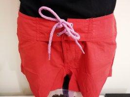 rote Bade Board Shorts kurze Hose von H2O