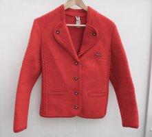 GOBL Blazer in lana rosso mattone Lana