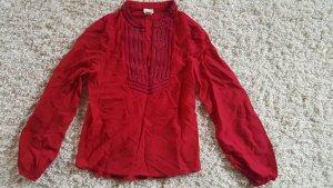 H&M Conscious Collection Tunique-blouse doré-rouge
