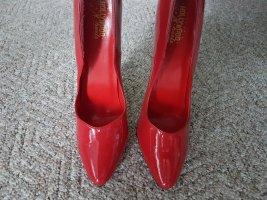 Rote Lack- HIghheels von HOLLYWOOD Heels