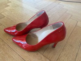 rote Lackleder, High Heels, Paul Green, Absatz 8 cm, Gr. 36