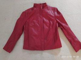 Virmani Leather Jacket red