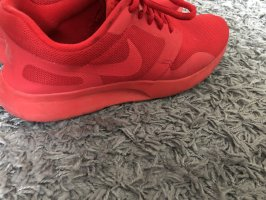 Nike Zapatos de patinador rojo